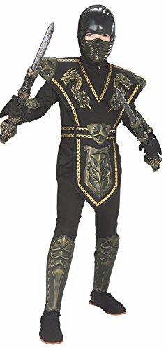 Dragon Kostüm Ninja Gold - Ninjas Ninja Gold Kostüm M Keine Angaben
