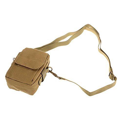 ruifu Outdoor Military Tactical Waist Pack Tasche Wandern Camping Handy Tasche Geldbörse Wasserdicht Verschleißfest Khaki