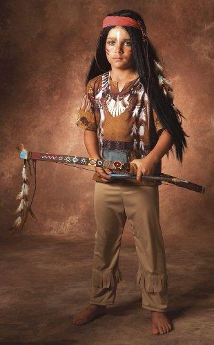 Imagen de cesar  disfraz de guerrero indio para niño de 4/5 años  alternativa