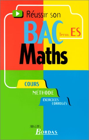 029 - MATHS TERM. ES (Ancienne Edition)