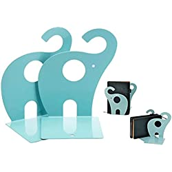 Itian 1 par Lindo Sujetalibros Elefante, Sujetalibros del Arte del Metal (Lago Azul)