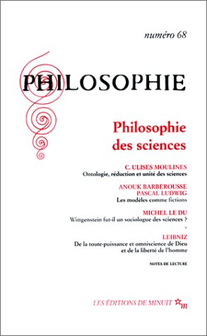 Philosophie, n°68 : Philosophie des sciences
