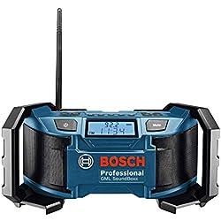 Bosch Professional GML Soundboxx (Radio/Radio-réveil MP3, stations radio FM/AM)