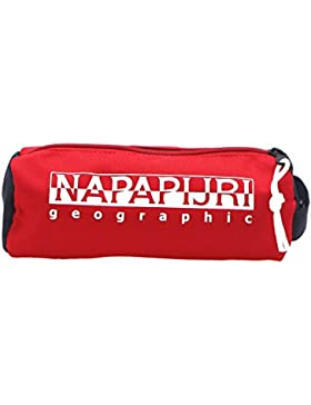 Napapijri Unisex-Erwachsene Happy Pencil Case Umhängetasche, 9 x 9 x 22 cm