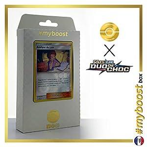 Analyse de Léo (Análisis de Bill) 133/181 Holo Reverse - #myboost X Soleil & Lune 9 Duo de Choc - Box de 10 Cartas Pokémon Francés