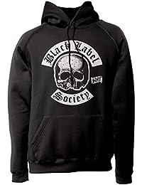 LaMAGLIERIA Sudadera Unisex Black Label Society New Logo - Sudadera con Capucha Heavy Metal Rock Zakk