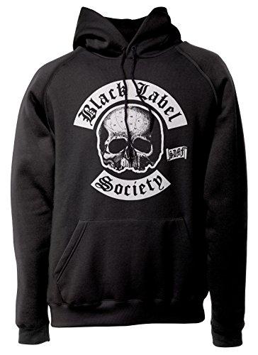 LaMAGLIERIA Unisex-Hoodie Black Label Society New Logo - Kapuzenpullover Metal Rock Band Zakk Wylde, L, Schwarz