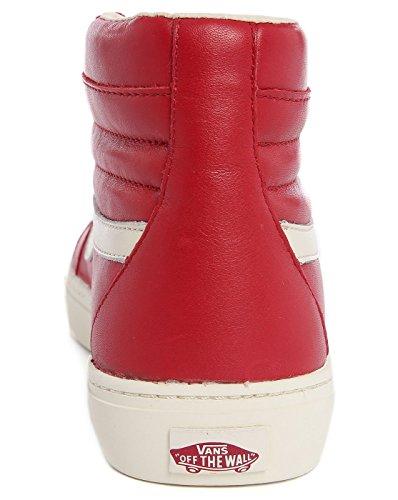VANS - Herren- Sk8 Hi Cup Ca aus rotem Leder für herren Chili Pepper
