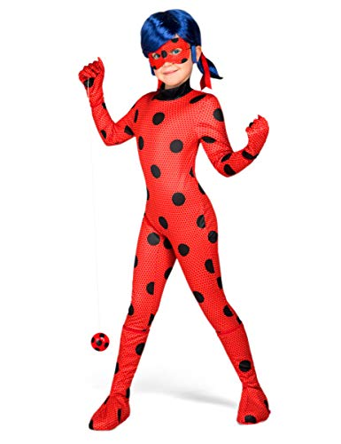 Miraculous Ladybug Kostüm Kinder - My Other Me Ladybug-Kinderkostüm Miraculous-Lizenzkostüm rot-schwarz
