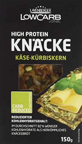 Layenberger LowCarb.one (High Protein Knäcke Käse Kürbiskern) 150g
