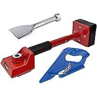 3pieza kit de herramienta para fijación de moquetas (–Tensor, Bolster Y cortador de alfombra 3año de garantía