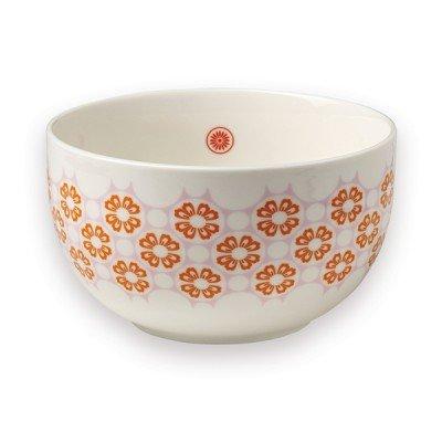 Saladier en Porcelaine Fleurs Oranges Mr & Mrs Clynk