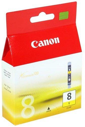 Canon CLI-8Y Cartouche d'encre d'origine Jaune
