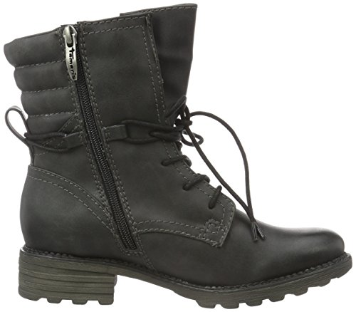 Tamaris Damen 26206 Kurzschaft Boots Schwarz (Black Antic 002)