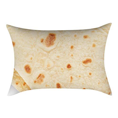 Xmansky Funda de almohada burritos mexicanos sofá funda de cojín sofá almohada...