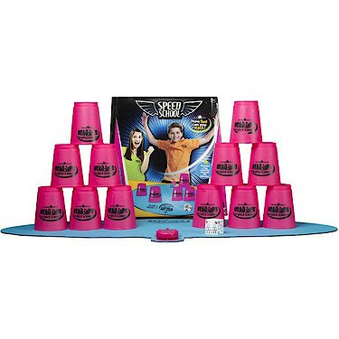 Speed School Set de Sport Stacking - Cup Rose
