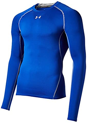 Under Armour Hg T-Shirt manches longues de compression Homme Royal/Steel