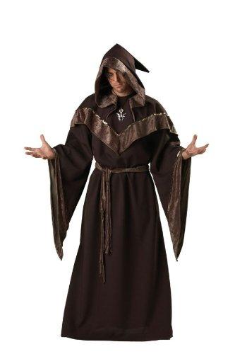 InCharacter Magier - Hexenmeister - Größe: Large (Böse Hexer Halloween Kostüm)