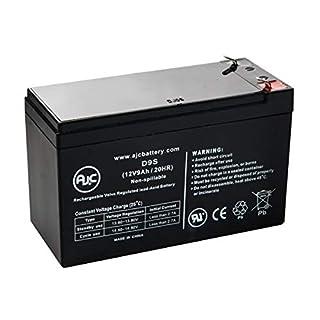 AJC Battery Brand Replacement for Werker WKA12-9F2 12V 9Ah UPS Akku - Dies ist Ein AJC® Ersatz