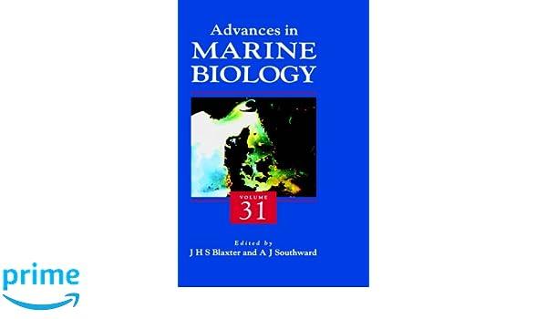 Advances in Marine Biology: 31