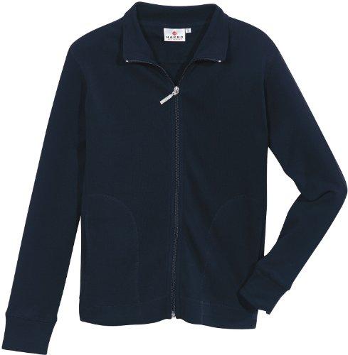 HAKRO Damen Casual Sweatjacke - 227 - tinte - Größe: M Tennis-damen-sweatshirt