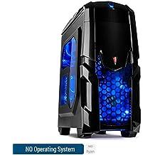 Sedatech PC Gaming Casual AMD Ryzen 3 2200G 4 x 3.5Ghz (max 3.7Ghz), Radeon Vega 8, 8Gb RAM DDR4, 120Gb SSD, 1Tb HDD, USB 3.0, Wifi, CardReader, Full HD 1080p, Alim 80+. Ordenador de sobremesa sin OS