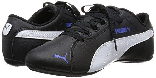 Puma Janine Dance 2, Damen Sneakers, Schwarz (black-white-dazzling blue 06), 38 EU (5 Damen UK) - 5