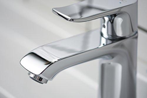 Hansgrohe – Einhebel-Waschtischmischer, ohne Ablaufgarnitur, ComfortZone 110, Chrom, Serie Metris - 4