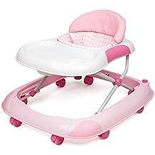 bebé andador paseante carretilla 7-18 meses bebé Prevenir rollover vagón restaurante plegable chasis grande ajuste de la tercera velocidad seguridad transpirable