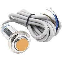 heschen Induktive Näherungsschalter Sensor Switch LJ18A3–5-z/BX Detektor 5mm 6–36VDC 300mA NPN Normalerweise offen (No) 3Draht