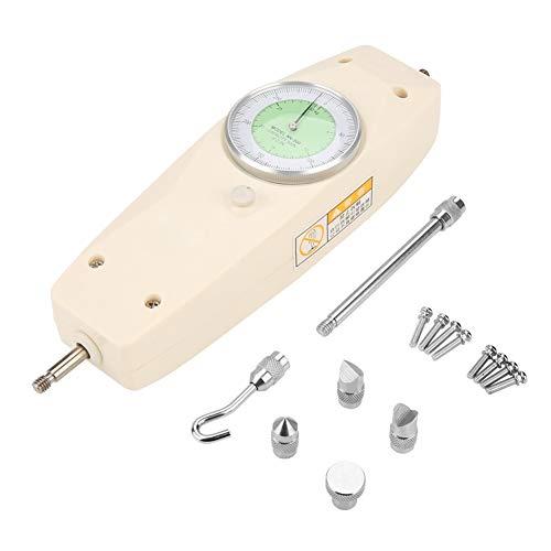 Caracteristicas:100 nuevo y de alta calidad.El dinamómetro push-pull tiene un indicador de cuadrante con señal analógica y una capacidad de 300N.Diseño de asa de mano, simple y conveniente de operar.El dinamómetro se puede montar en varios bancos de ...