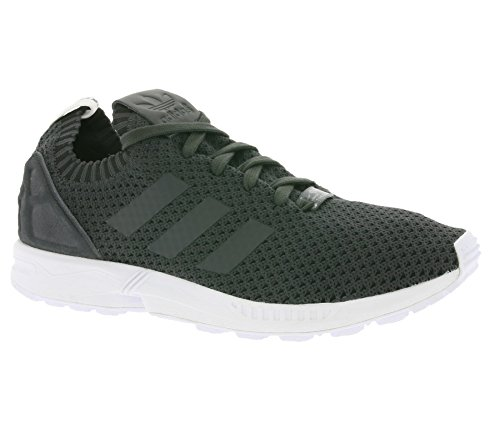 9bd4ca156 adidas ZX Flux PK Primeknit Solid Grey Black dgh solid grey-dgh solid grey-