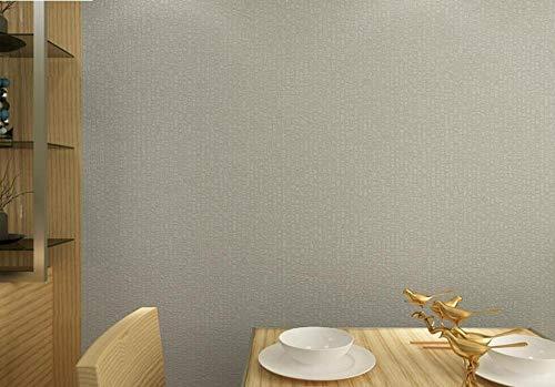 Agreey Carta da parati goffrata strutturata classica a strisce verticali grigia grigia della carta da parati per la decorazione della stanza papel de parede@65411_5.3㎡