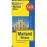 Plan de ville : Milan (avec un index)