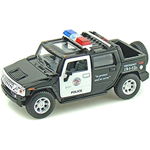 2005 Hummer H2 SUT Police 1/40 by Collectable Diecast