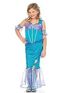 Leg Avenue LO49109 Sea Star Mermaid Kinderkostüm, Blau, Small (EUR 110-116)