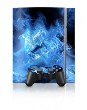 Playstation 3 - Skin Set - Blue Quantum