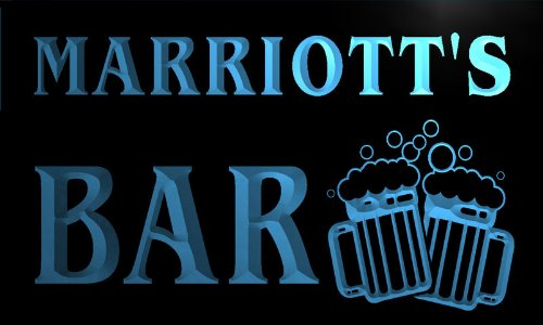 w006238-b-marriott-name-home-bar-pub-beer-mugs-cheers-neon-light-sign