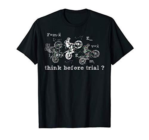 Think Before Trial Motorrad Tshirt - Think Green T-shirt