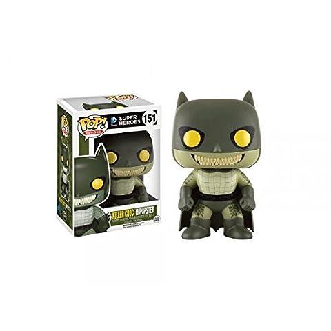 Funko - Figurine DC Heroes - Impopster Killer Croc Exclu Pop 10cm - 0889698119948