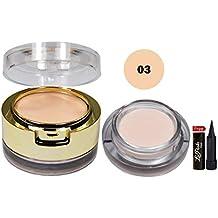 Mars Primer & Concealer-03 Oil free long lasting base With Free LaPerla Kajal
