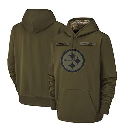 NFL Pittsburgh Steelers Herren Hoodie Sweatshirt American Football Fan-Hoodie für Männer