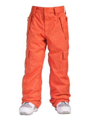 Quiksilver Jungen Snowboard Hose Porter Youth, orange, 140 / 10 Jahre, KPBSP054-ORG-T10