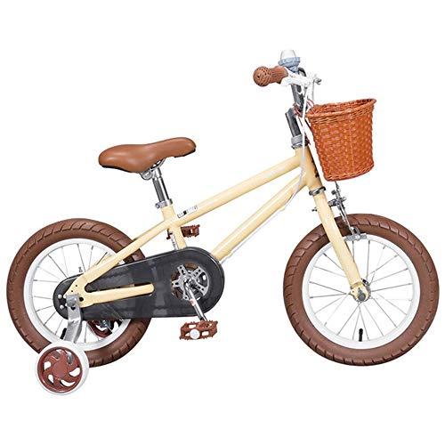 K-G Bicicleta Infantil Bicicleta for niño 3-8 años Niñas y Niños, Niños Bicicleta de Entrenamiento...
