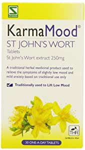Schwabe Pharma KarmaMood St John's Wort Extract 250mg Tablets- Pack of 30 Tablets