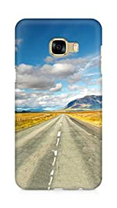 Amez designer printed 3d premium high quality back case cover for Samsung Galaxy C5 (Amazing Clouds)