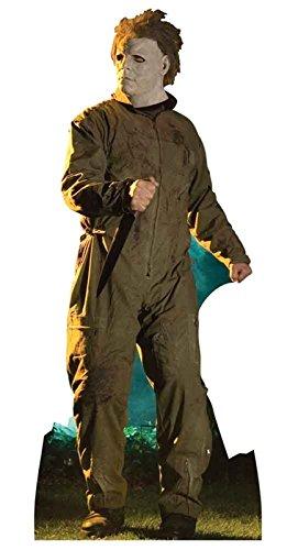 d Up) Halloween Michael Myers (193 cm) (Comic Figuren Halloween)