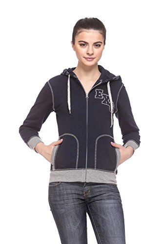 EX10SIVE Women's navy sweatshirt