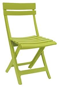 Chaise pliante - Miami - vert anis