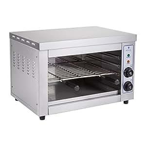 Royal Catering - RCES-580 - Salamandre / Toaster électrique - 220 V - 3,25 kW - de 50 à 300° C - avec Minuteur